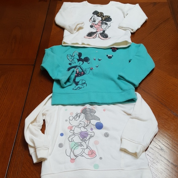 f19a86c90 jumping beans Other - (3) Girl's 2T/24Mo Disney Minnie Mouse Sweatshirts